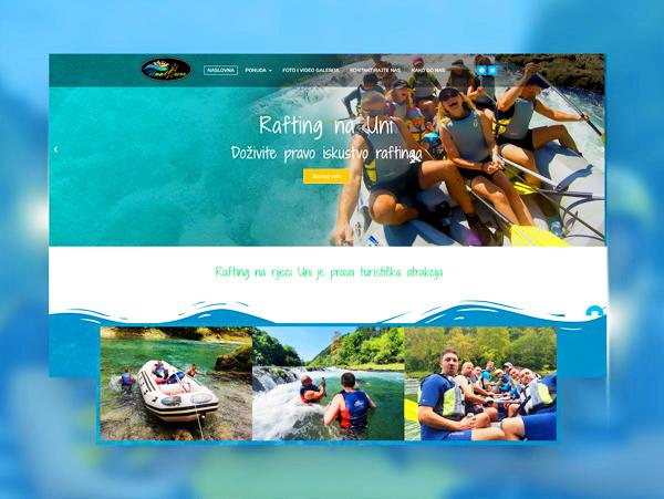UnatOure, Bosanska Krupa, webdesign by Visual marketing