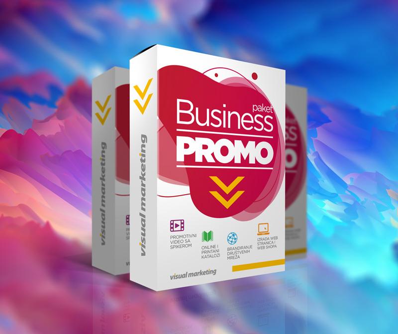 Visual marketing - Business PROMO paket